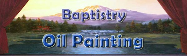 Baptistry Oil Paintings